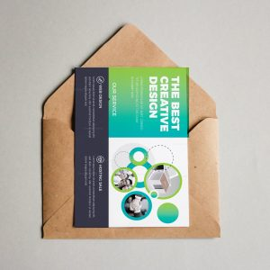 Maine Modern Corporate Postcard Template