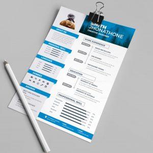 Medusa Professional Resume Design Template