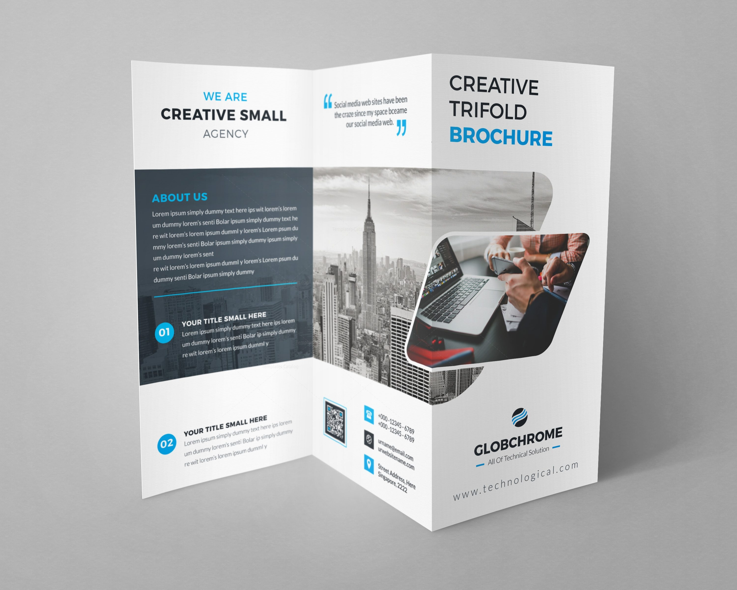 Minsk professional creative tri fold brochure design for Creative brochure templates free
