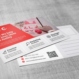Modern Creative Corporate Postcard Template