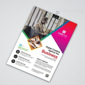 Montego Stylish Business Flyer Design Template