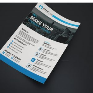 Nebraska Creative Business Flyer Design Template