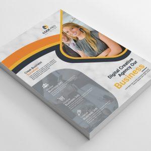 Ostrava Stylish Business Flyer Design Template
