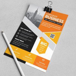 Persephone Stylish Business Flyer Design Template