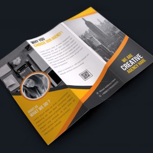 Premium Corporate Creative Tri-fold Brochure Design