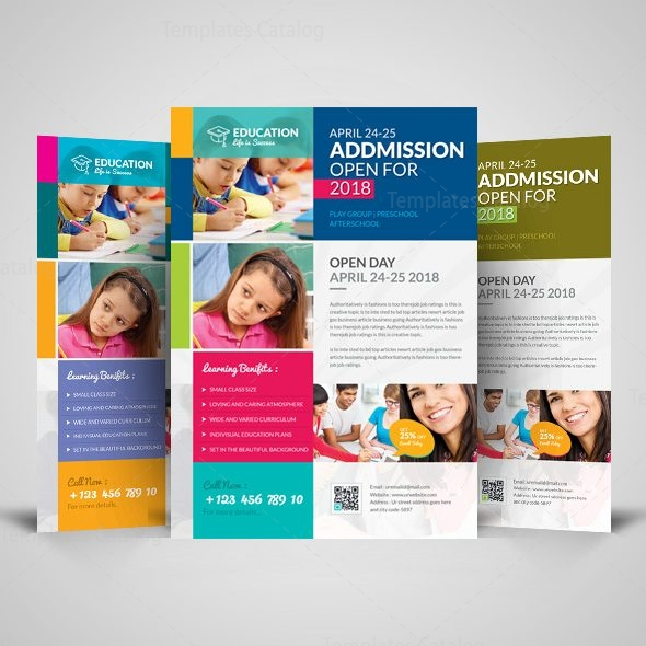 Professional School Flyer Design Template