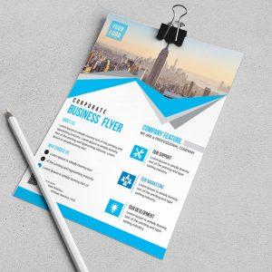 Riverside Modern Business Flyer Design Template