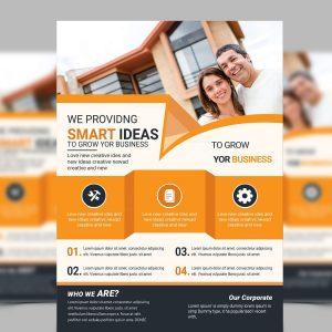Smart Modern Business Flyer Design Template