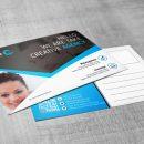 Stylish Creative Corporate Postcard Template 1