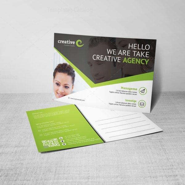 Stylish Creative Corporate Postcard Template 2