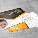 Stylish Creative Corporate Postcard Template 3