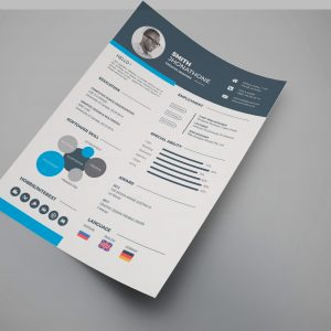 Stylish Professional Resume Design Template
