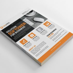Utah Creative Business Flyer Design Template