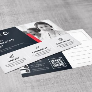 Zeus Modern Corporate Postcard Template