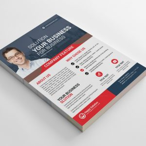 Illinois Creative Business Flyer Design Template