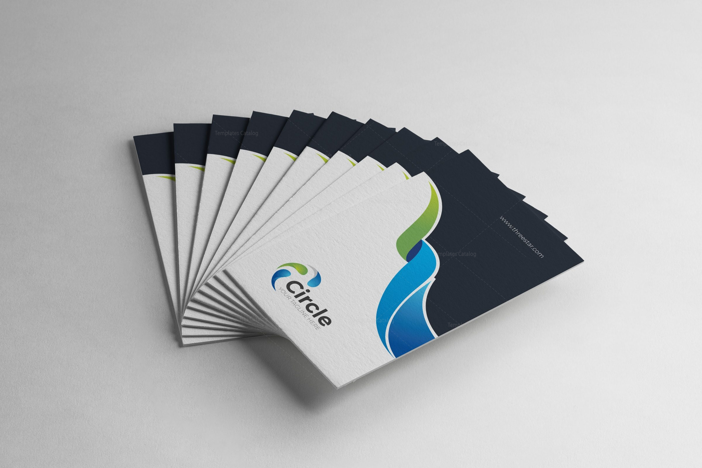 02 Technology Business Card
