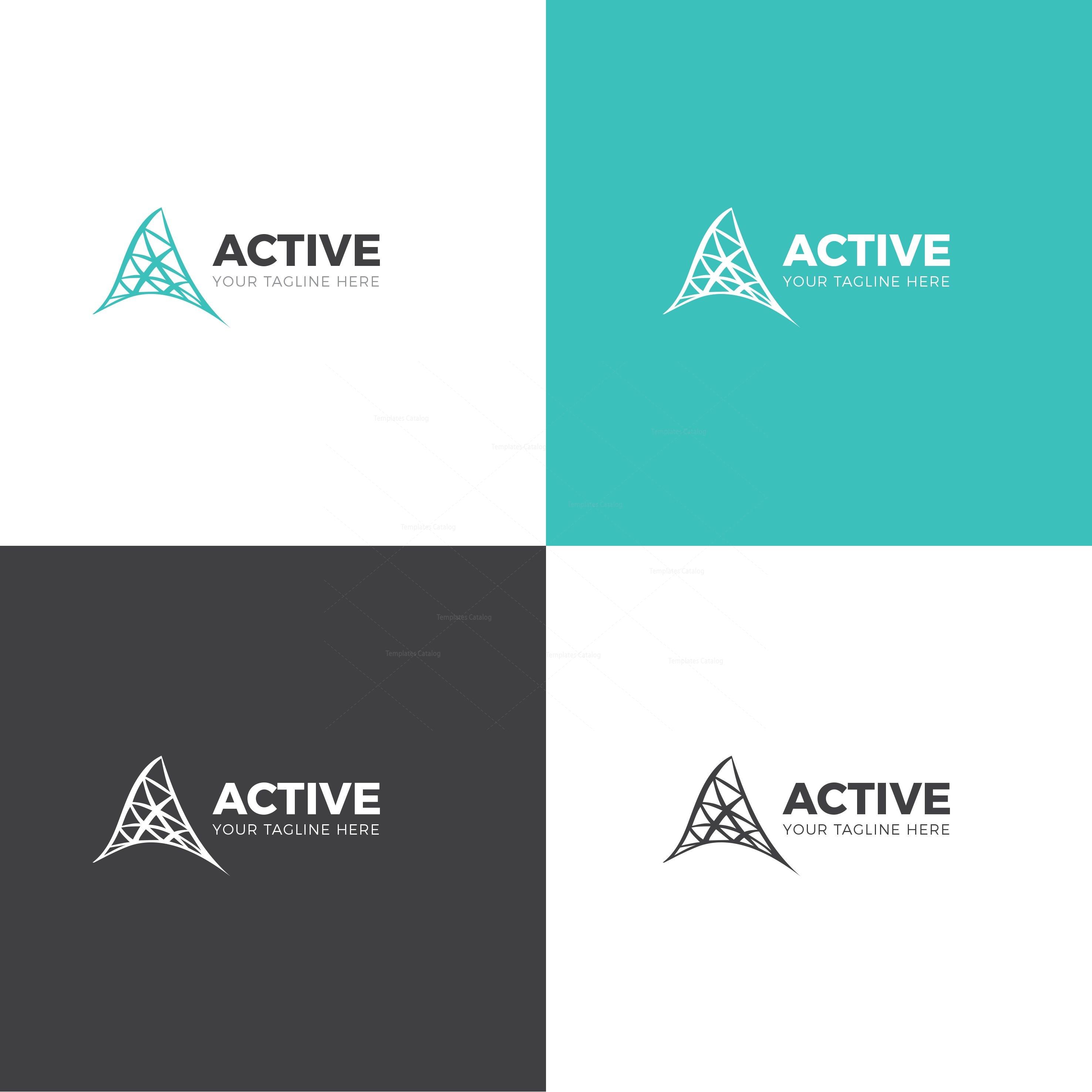 Active Corporate Logo Design Template 001711 - Template ... - photo#18