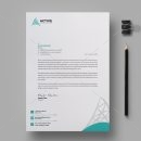 Active Professional Corporate Letterhead Design Template 1