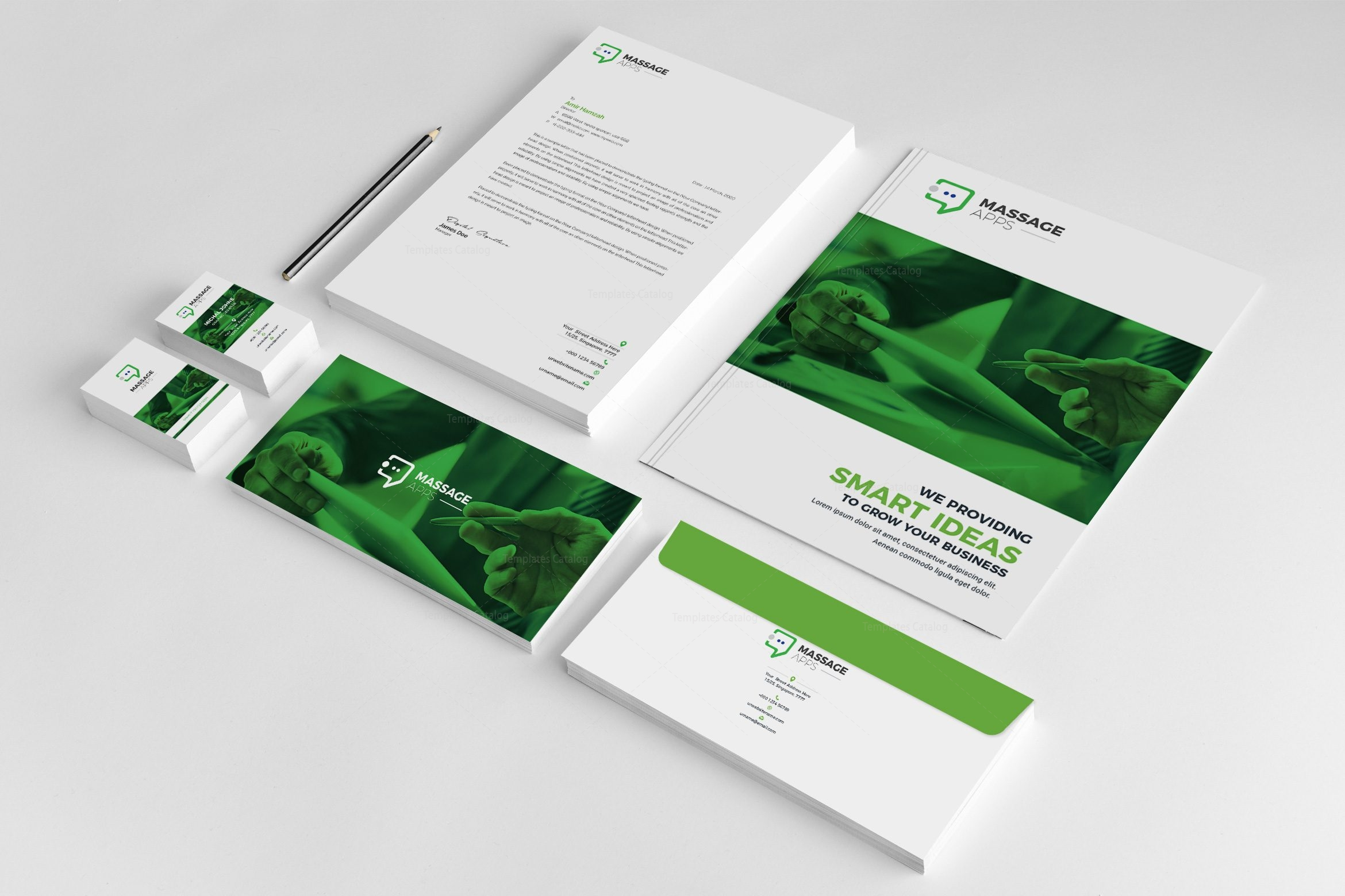 Application creative corporate identity template 001820 template application creative corporate identity template 1 wajeb Images