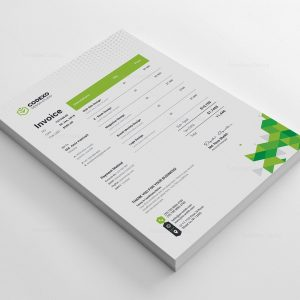 Berlin Professional Corporate Invoice Template