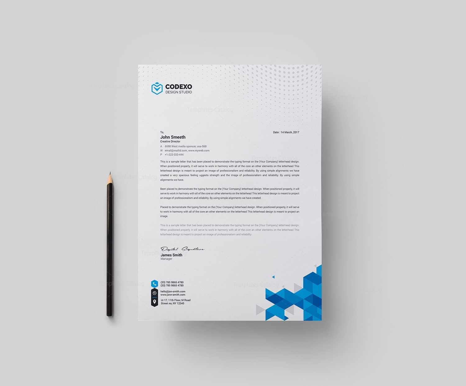 Berlin professional corporate letterhead template 001767 template berlin professional corporate letterhead template 1 spiritdancerdesigns Image collections