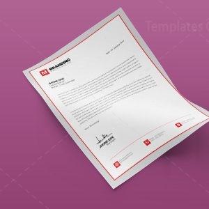 Branding Creative Corporate Letterhead Design Template