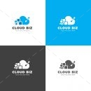 Cloud Biz Creative Logo Design Template