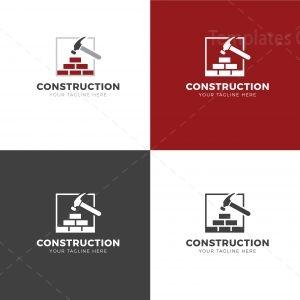 Construction Creative Logo Design Template