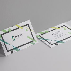 Creative Solution Business Card Design Template