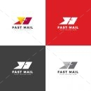 Fast Mail Creative Logo Design Template