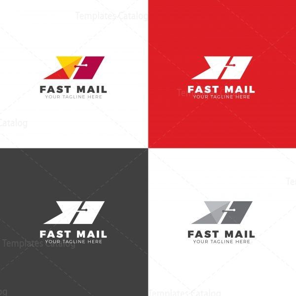 Fast Mail Creative Logo Design Template