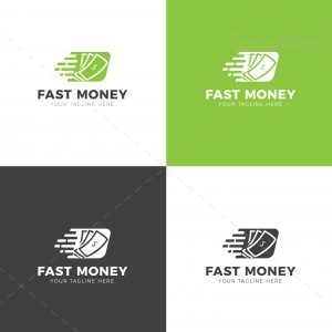 Fast Money Creative Logo Design Template