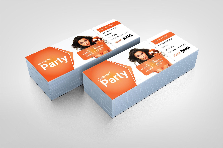 foam party event ticket design template 001977 template catalog