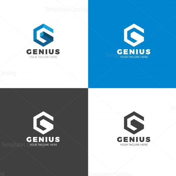 Genius Creative Logo Design Template
