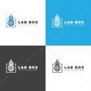 Lab Box Creative Logo Design Template