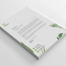 Leaf Professional Corporate Letterhead Template