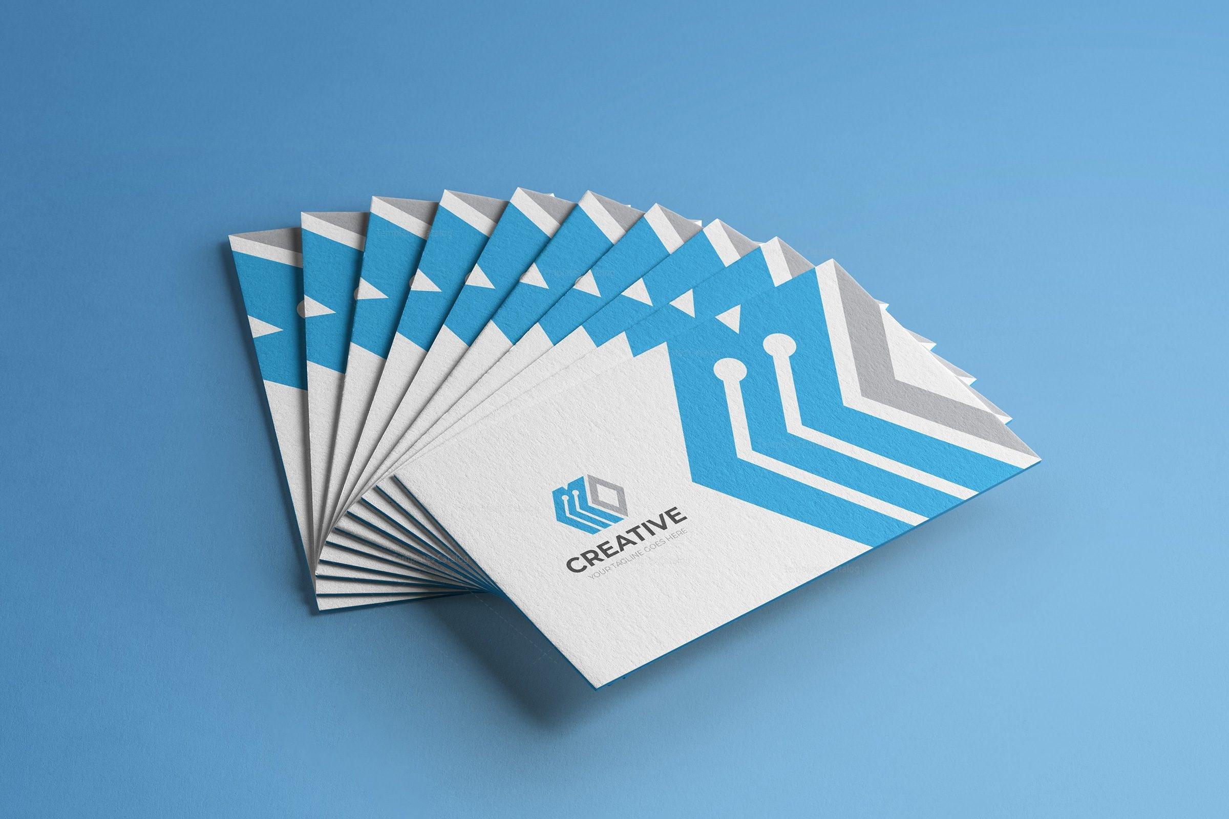 London Creative Business Card Design Template 001783 - Template Catalog