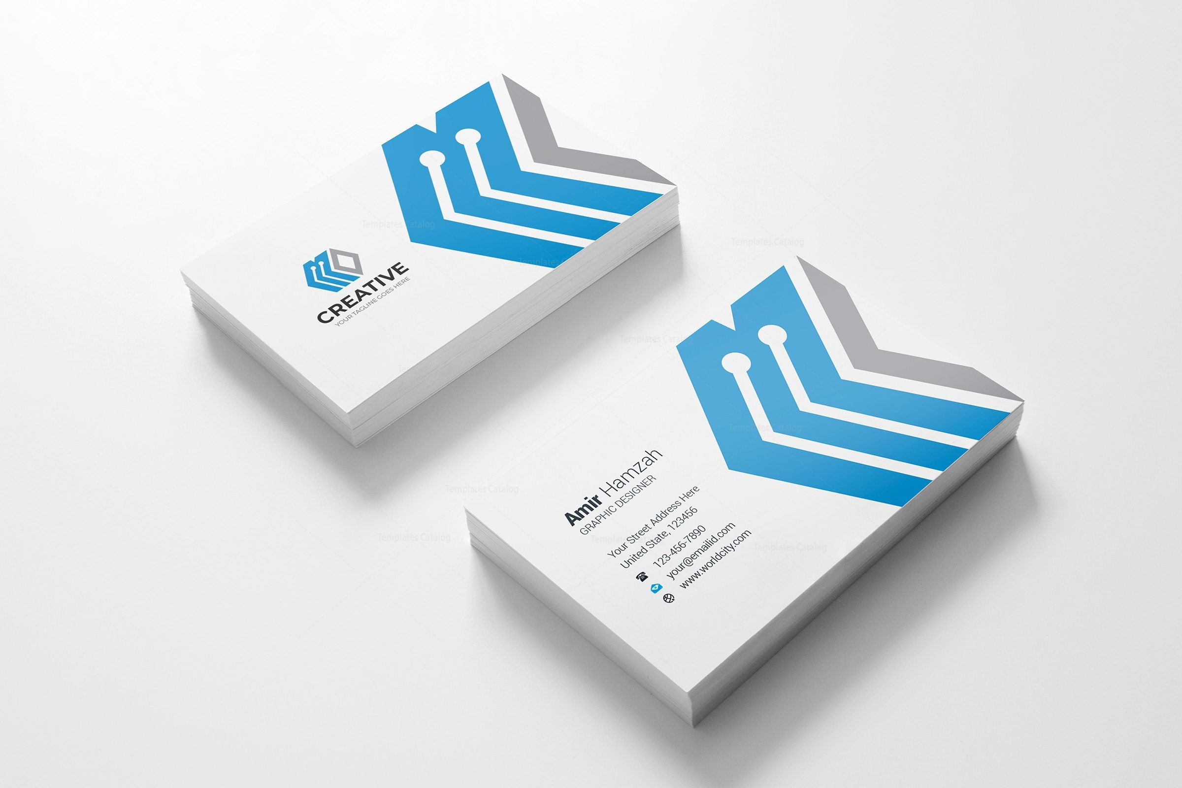 London creative business card design template 3 template catalog london creative business card design template 3 reheart Image collections