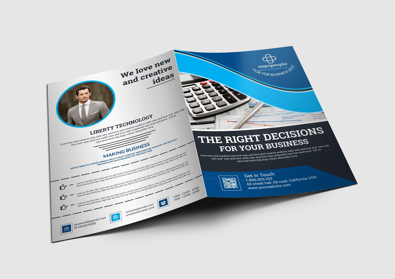 melbourne stylish presentation folder design template 001686 template catalog. Black Bedroom Furniture Sets. Home Design Ideas