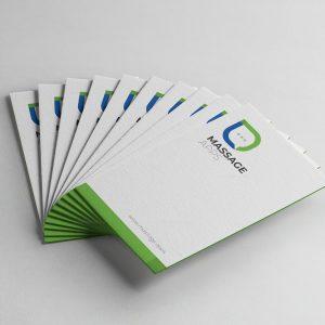 Message Creative Business Card Design Template