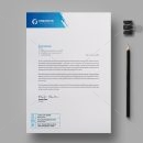 Professional Corporate Letterhead Design Template 1