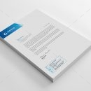 Professional Corporate Letterhead Design Template