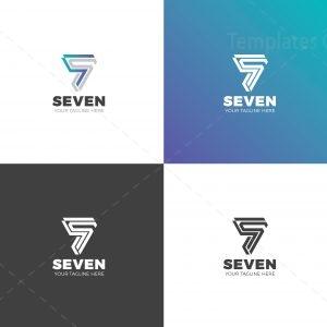 Seven Professional Logo Design Template