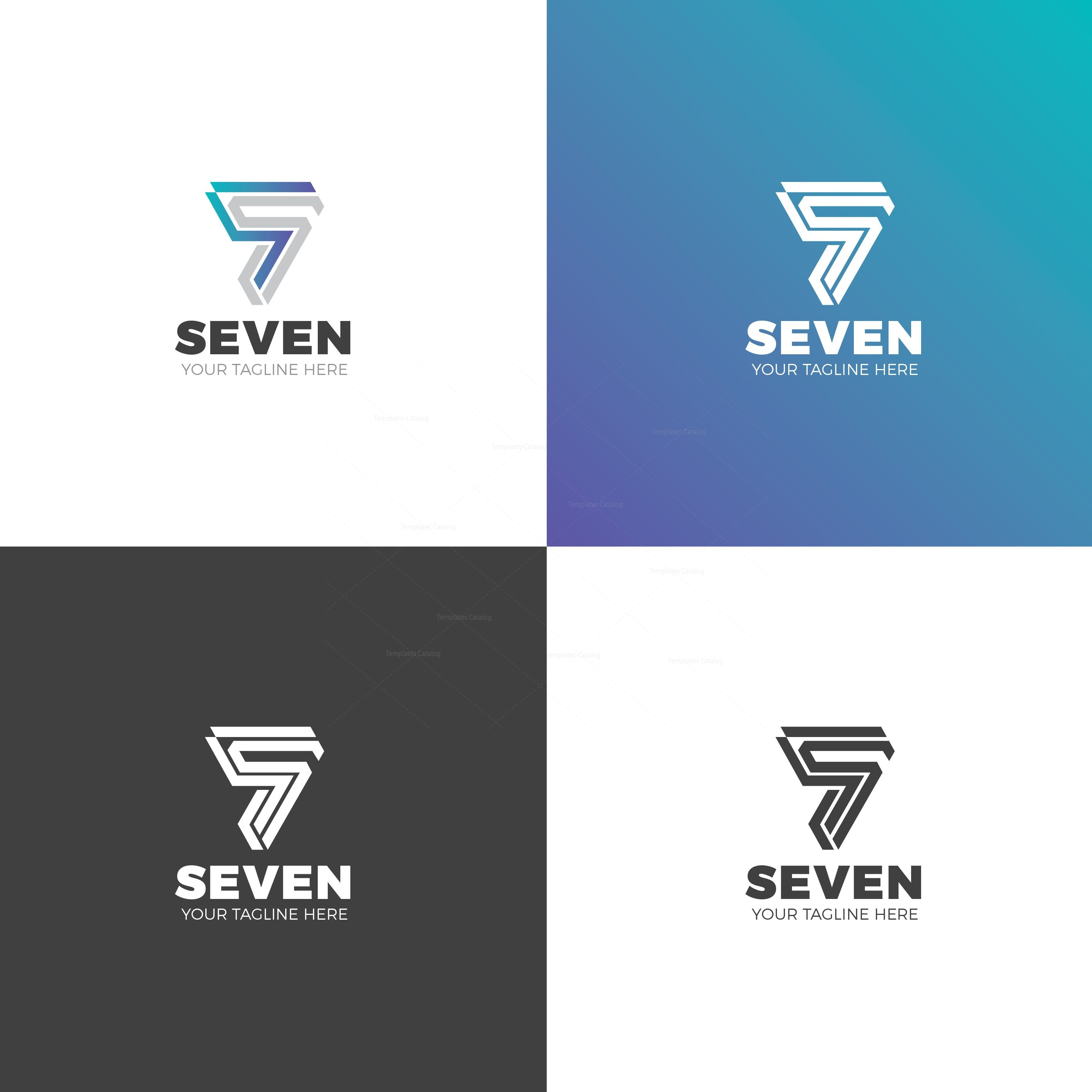 Seven Professional Logo Design Template 001863 - Template ... - photo#38