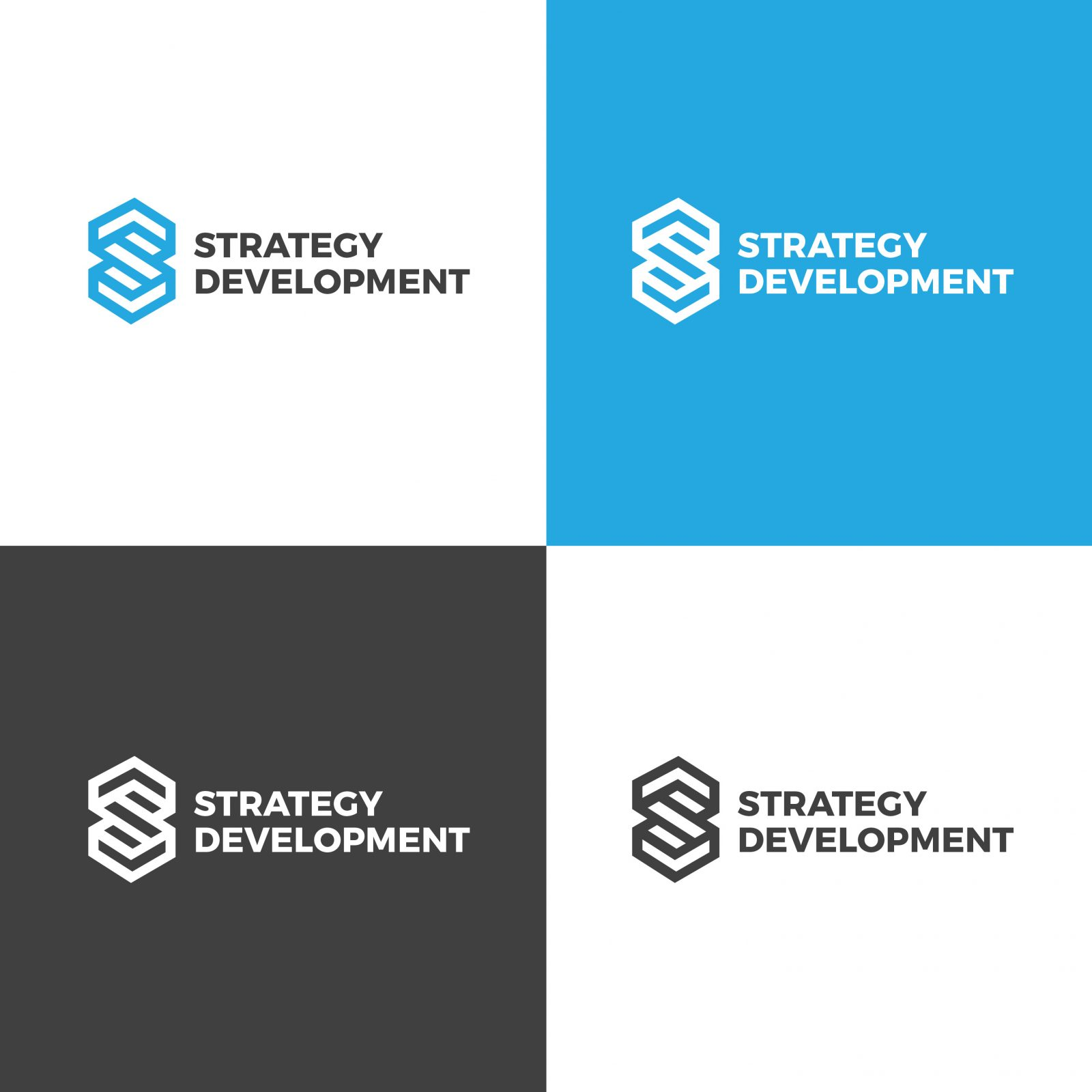 strategy creative logo design template 001887