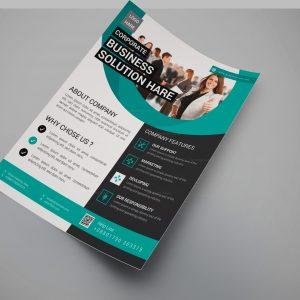 Superior Modern Business Flyer Design Template