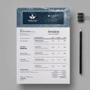 Three Star Professional Invoice Design Template