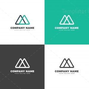 Triangle Creative Vector Logo Design Template