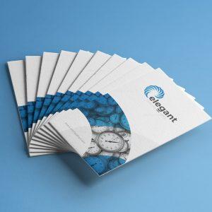 Watch Creative Business Card Design Template