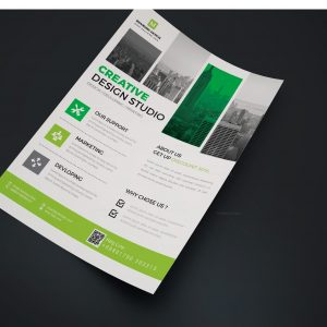 Arcade Creative Business Flyer Design Template